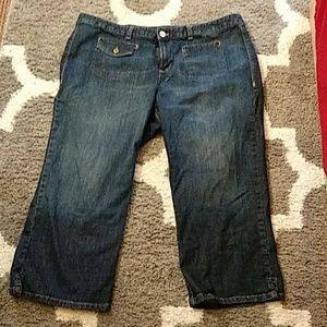 Tommy Hilfiger capri jeans
